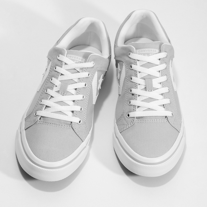 Pánské šedé tenisky converse, šedá, 889-2259 - 16