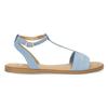 Světle modré dámské sandály bata, modrá, 569-9619 - 19