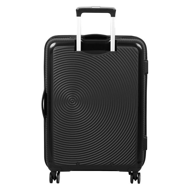 Černý skořepinový kufr na kolečkách american-tourister, černá, 960-6614 - 26
