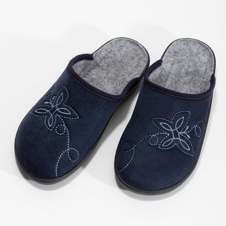 Baťa Dámská domácí obuv modrá - Domácí obuv  687c8ee40e