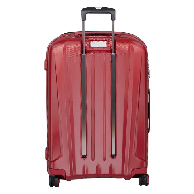 Červený skořepinový kufr na kolečkách velký roncato, červená, 960-5736 - 26