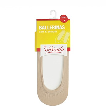 Dámské ponožky do balerín tělové bellinda, neutrální, 919-8726 - 13