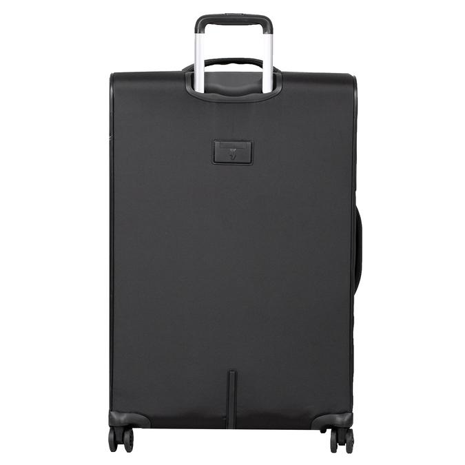 Velký textilní kufr na kolečkách roncato, černá, 969-6709 - 26