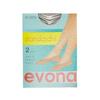 Nízké silonkové ponožky evona, hnědá, 919-4100 - 13