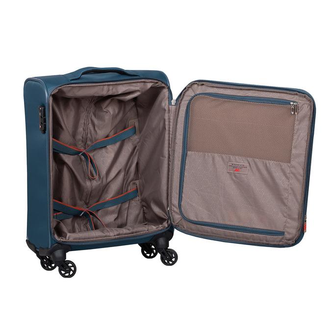 Palubní kufr na kolečkách tyrkysový roncato, modrá, 969-9723 - 17