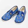 Modré dětské přezůvky s fotbalisty bata, modrá, 279-9129 - 16