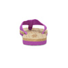 Dámské žabky fialové pata-pata, fialová, 579-5630 - 15