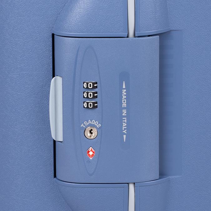Palubní zavazadlo modré na kolečkách roncato, modrá, 960-9731 - 15