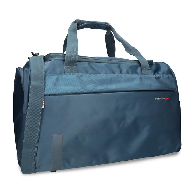 Cestovní taška s odepínatelným ramenním popruhem roncato, modrá, 969-9725 - 13