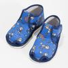Kotníčkové modré přezůvky se vzorem bata, modrá, 179-9212 - 16