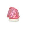 Růžové dívčí přezůvky se vzorem bata, růžová, 179-5213 - 15