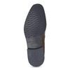 Hnědé kožené pánské polobotky bata, hnědá, 826-3866 - 18