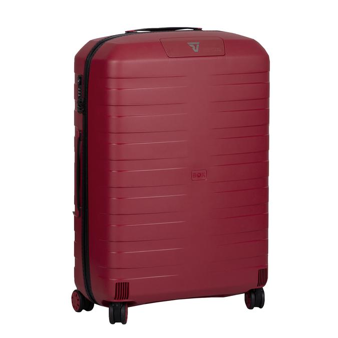 Velký červený kufr na kolečkách roncato, červená, 960-5727 - 13
