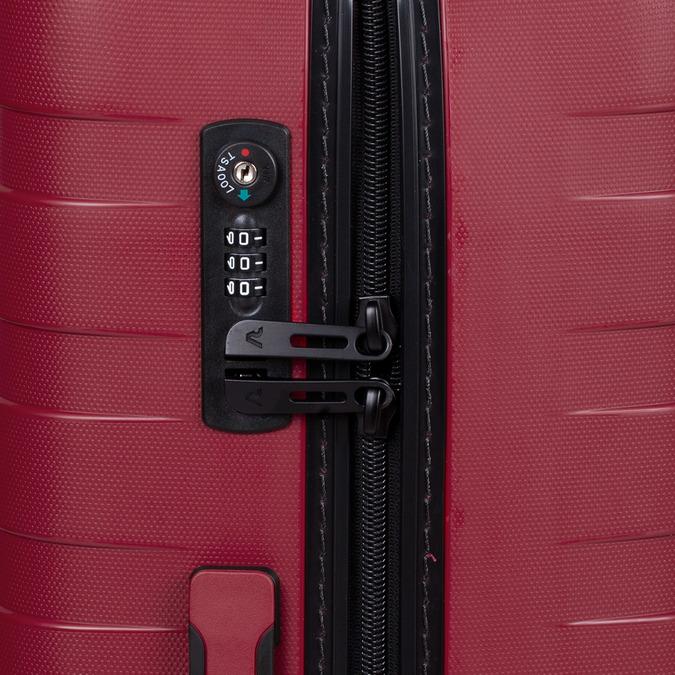 Velký červený kufr na kolečkách roncato, červená, 960-5727 - 15
