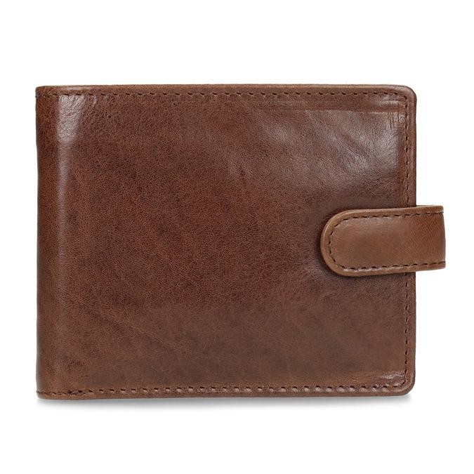 Pánská kožená peněženka hnědá bata, hnědá, 944-3202 - 26