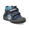 Dětské kotníkové boty na suché zipy modré bubblegummers, modrá, 111-9628 - 13
