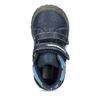Dětské kotníkové boty na suché zipy modré bubblegummers, modrá, 111-9628 - 17