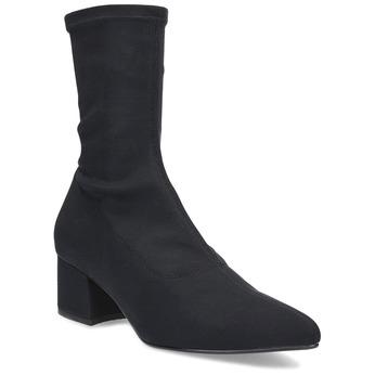 Černé ponožkové kozačky Vagabond vagabond, černá, 719-6123 - 13