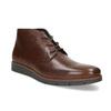 Pánské kožené hnědé Chukka Boots flexible, hnědá, 826-4972 - 13