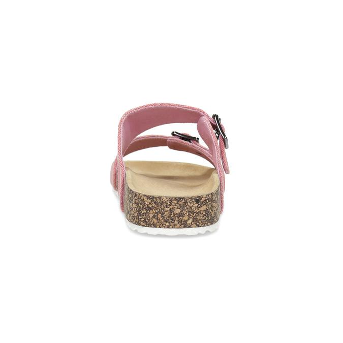 Dámské korkové pantofle růžové bata, růžová, 579-5625 - 15