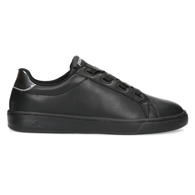 Černé dámské tenisky se stříbrnými detaily power, černá, 501-6168 - 19