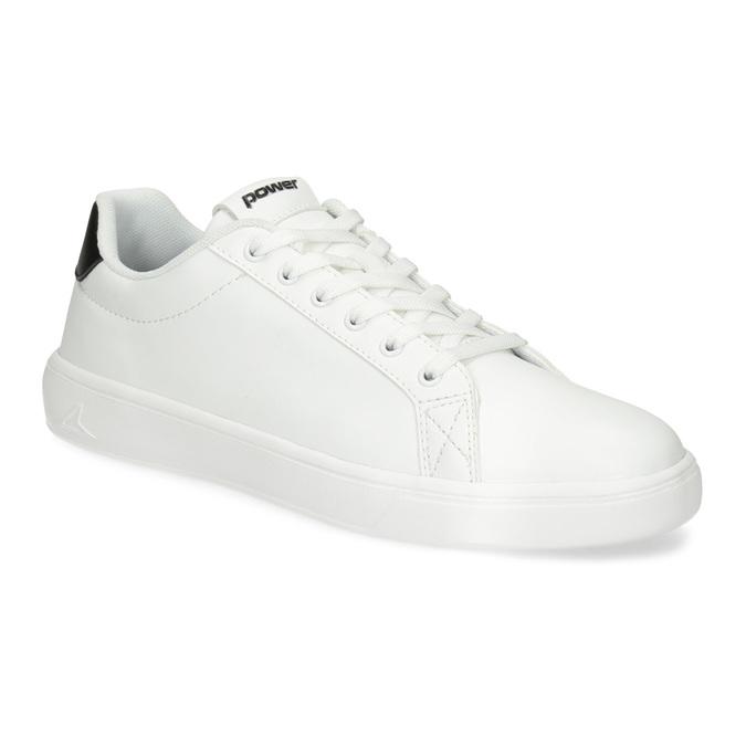 Pánské bílé ležérní tenisky power, bílá, 801-1182 - 13