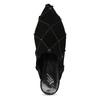 Kožené dámské nazouváky s krystaly Preciosa bata, černá, 523-6264 - 17