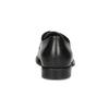 Dámské černé kožené polobotky gabor, černá, 524-6060 - 15