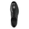 Černé kožené derby polobotky bugatti, černá, 824-6088 - 17