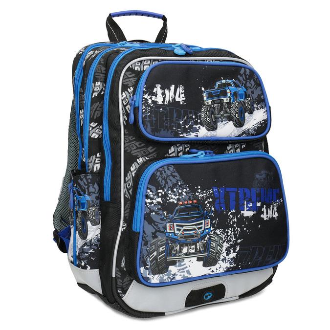 Bagmaster Školní batoh Monster Truck - Školní batohy  d5bb8e5574