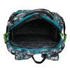 Školní batoh šedo-modrý bagmaster, zelená, 969-7717 - 15