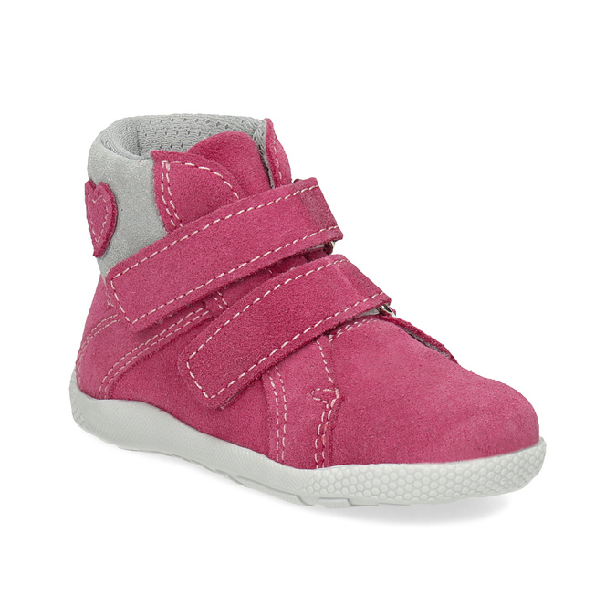 ea0482d9b88 Bubblegummers Růžová kotníčková dětská obuv - Kotníková obuv