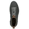 Kotníčkové kožené tenisky s prošitím weinbrenner, šedá, 846-6720 - 17
