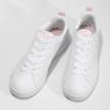Bílé dámské tenisky s perforací adidas, bílá, 501-1800 - 16