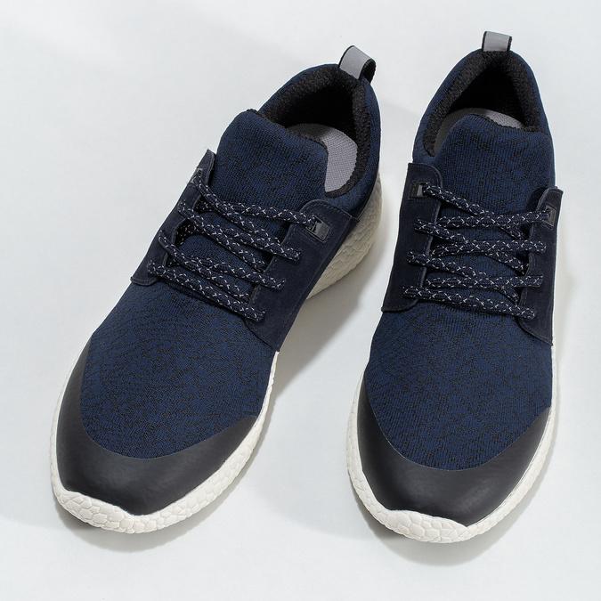 Pánské sportovní tenisky modré bata-light, modrá, 849-9634 - 16