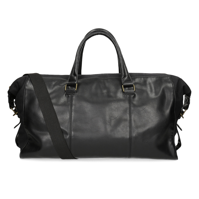 Pánská černá taška s popruhem bata, černá, 969-6230 - 16