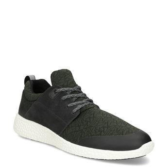 Pánské khaki sportovní tenisky bata-light, zelená, 849-7634 - 13