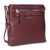 Vínová dámská crossbody kabelka gabor-bags, červená, 961-5023 - 13