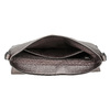 Stříbrná crossbody kabelka se cvočky gabor-bags, bílá, 961-1045 - 15