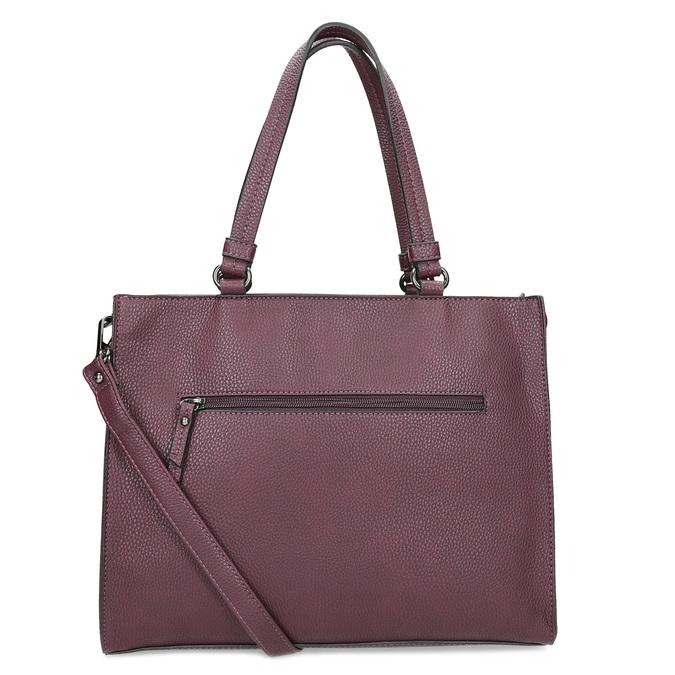 Vínová kabelka s mašlí gabor-bags, červená, 961-5061 - 16