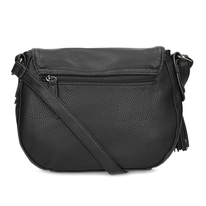 Černá crossbody kabelka s kamínky gabor-bags, černá, 961-6074 - 16