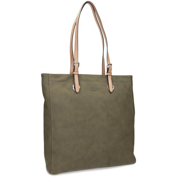 Khaki dámská kabelka gabor-bags, zelená, 961-7049 - 13