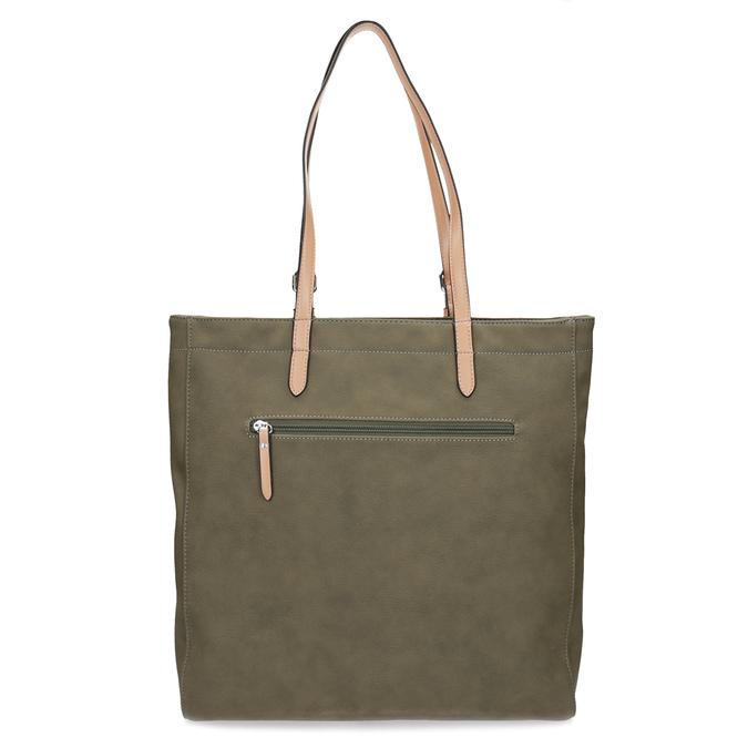 Khaki dámská kabelka gabor-bags, zelená, 961-7049 - 16