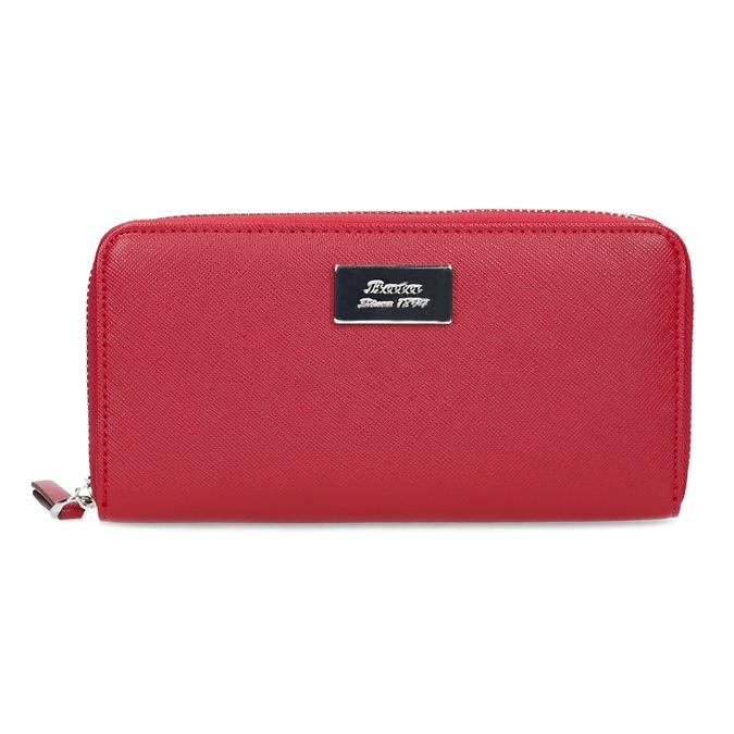 Červená dámská peněženka na zip bata, červená, 941-5223 - 26