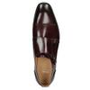 Pánské kožené Monk Shoes polobotky bata, červená, 826-5738 - 17