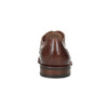 Kožené Oxford polobotky s Brogue zdobením bata, hnědá, 826-3785 - 15