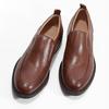 Hnědé kožené pánské mokasíny bata, hnědá, 816-3628 - 16