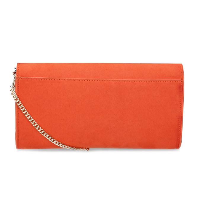 Cihlově oranžové psaníčko bata, červená, 969-5707 - 16