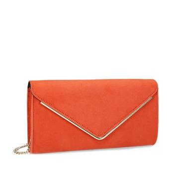 Cihlově oranžové psaníčko bata, červená, 969-5707 - 13