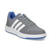 Šedé dětské ležérní tenisky adidas, šedá, 401-2337 - 13
